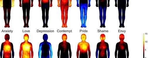 el mapa emocional del cuerpo