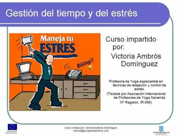 Curso Gestión de Estrés - CIP- 2008