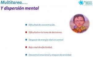 Efectos de la multitarea y dispersión mental-programadestres