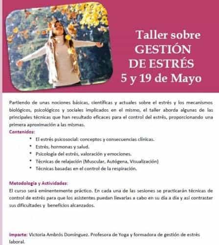 Taller Gestión de Estrés - Vigo 2012