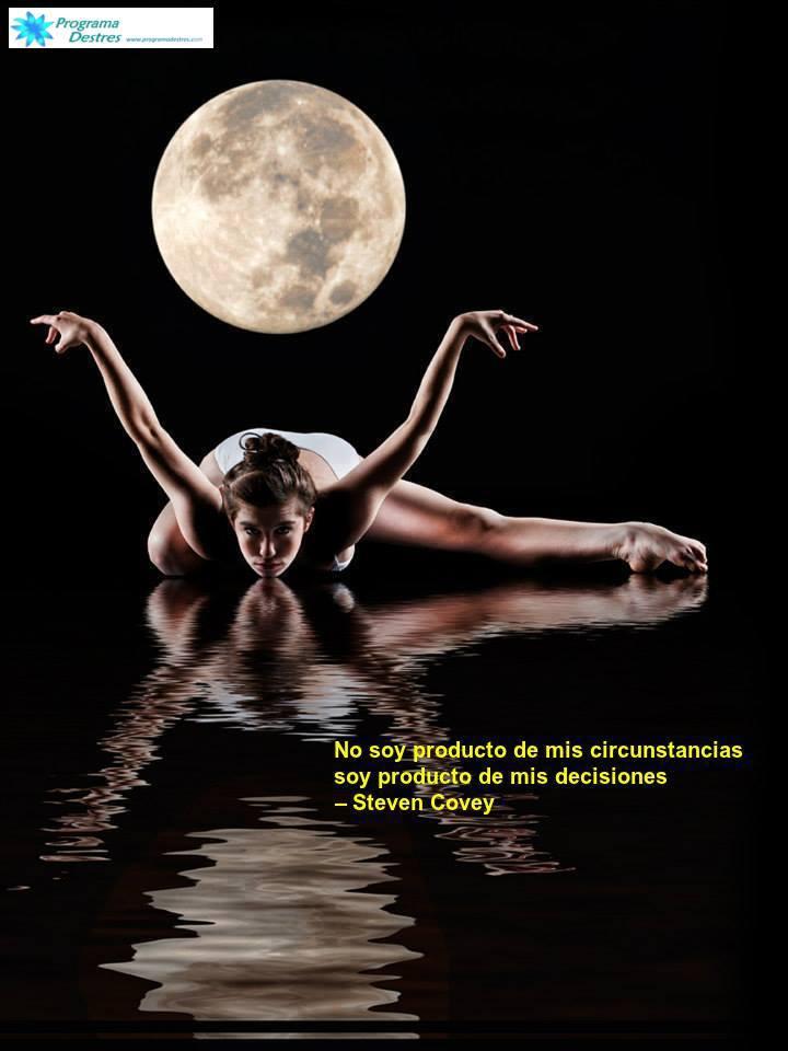 no soy producto de mis circunstancias soy producto de mis decisiones - Stephen Covey