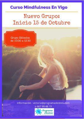 Grupo Mindfulness sábados octubre 16