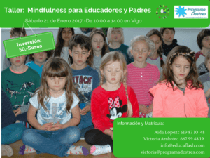 Taller Mindfulness para educadores y padres