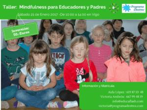 Taller Mindfulness para educadores y padres