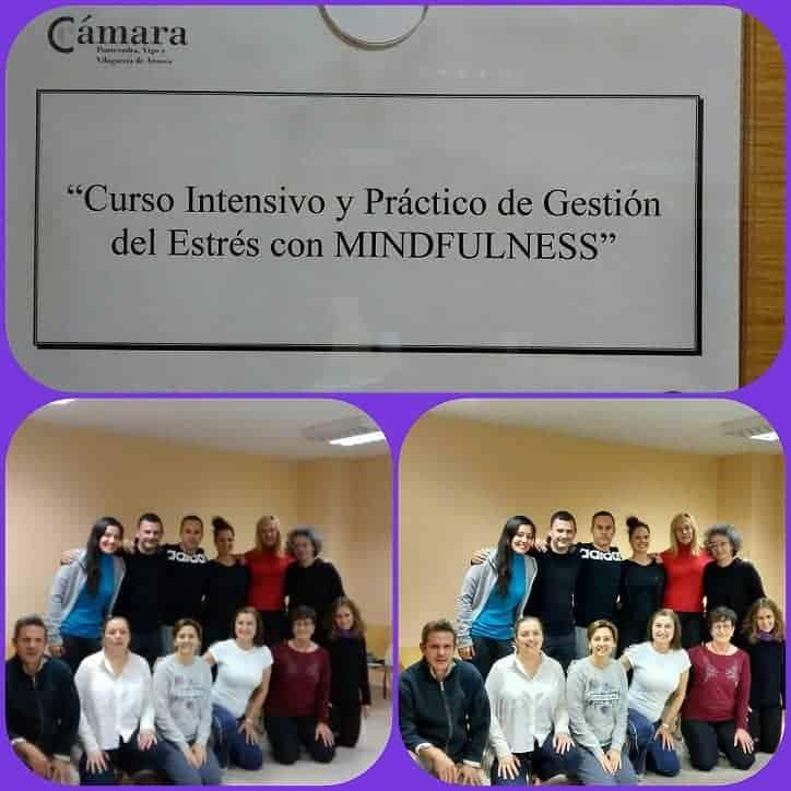 """Foto final del grupo de la 7º edición """"Gestión de estrés con Mindfulness"""""""