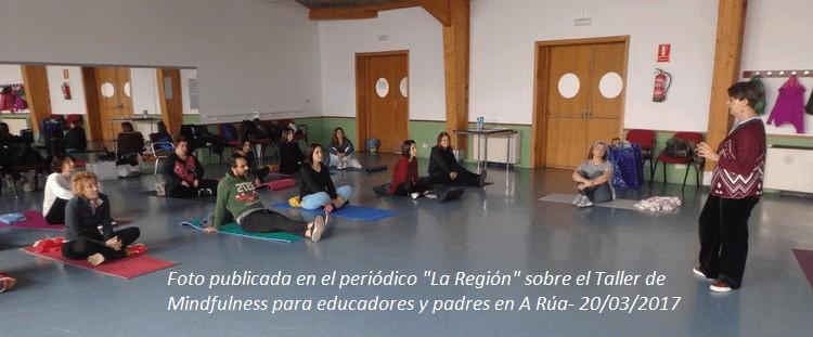 Fotos del taller del periodico LA REGION