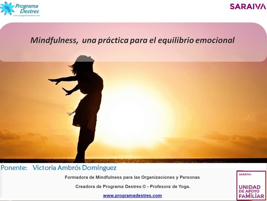 Mindfulness en Saraiva Senior