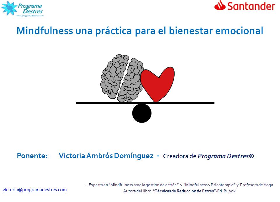 Conferencia Banco Santander en Vigo- BeHealthy18