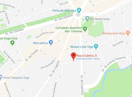 Nuevas Instalaciones de Programa Destres - Calle Caleira 5 en Vigo
