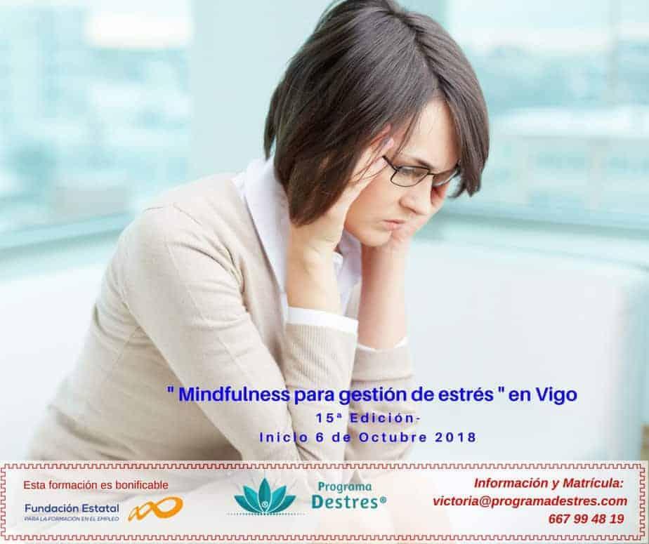 Próximo curso de Mindfulness en Vigo - Iniciamos el 6 de Octubre.