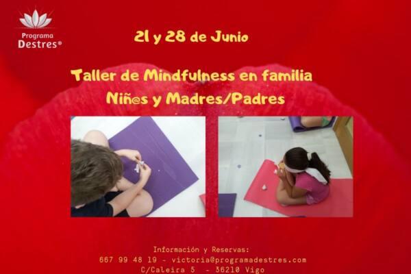 Taller mindfulness en familia  -21 y 28 de junio