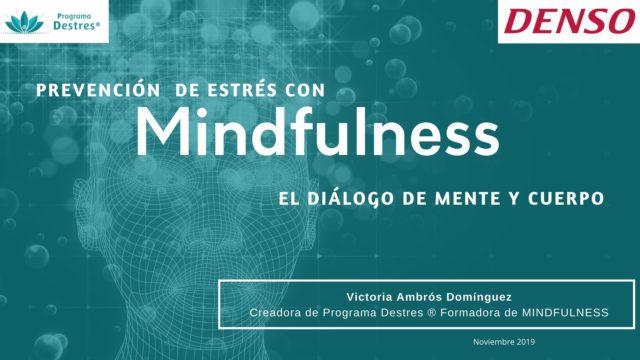 Prevención de estrés con mindfulness en Denso