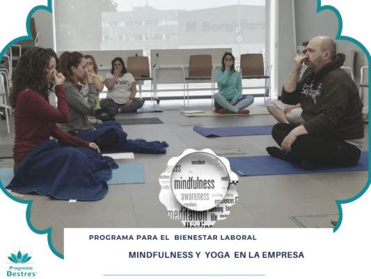programa de bienestar laboral - mindfulness y yoga en la empresa