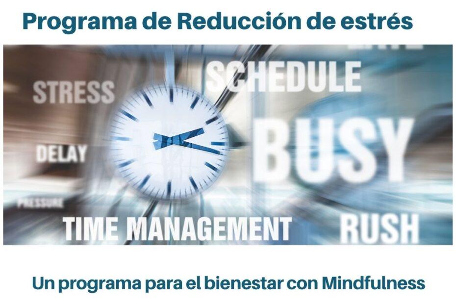 programa para reducción de estrés con mindfulness
